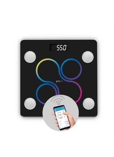 Polo Smart Gym Set PSC12 Akıllı Tartı + PSSW09 Akıllı Bileklik Siyah Siyah